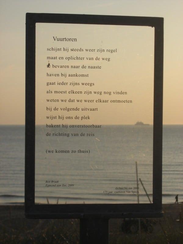 Lighthouse Jcj Speijk Of Egmond Aan Zee