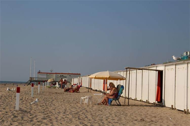 Beautiful beaches in Egmond aan Zee