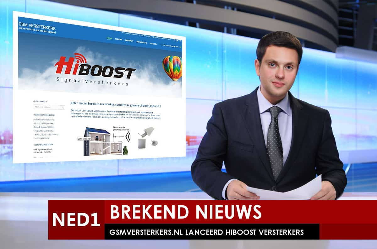 Maker Egmondonline.nl verkoopt ook GSMVERSTERKERS