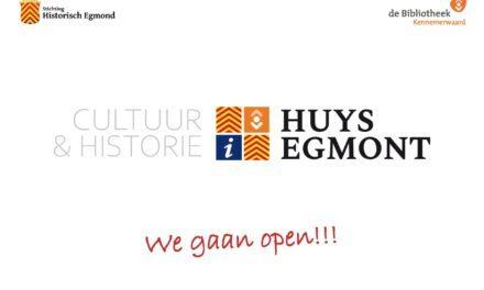 Huys Egmont opens its doors
