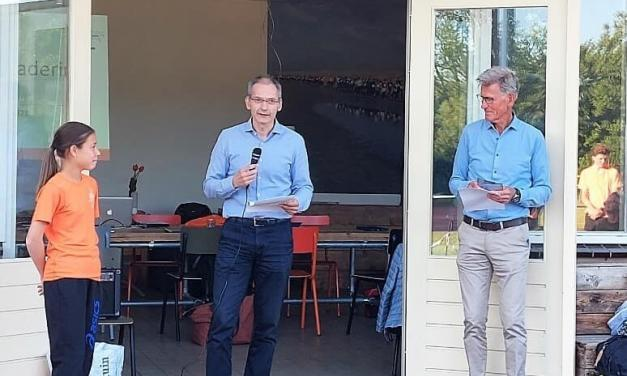 Huldiging clubrecordhouders Atletiek Vereniging Castricum