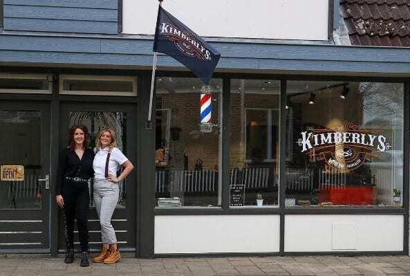 Kimberly's Hairshop weer open